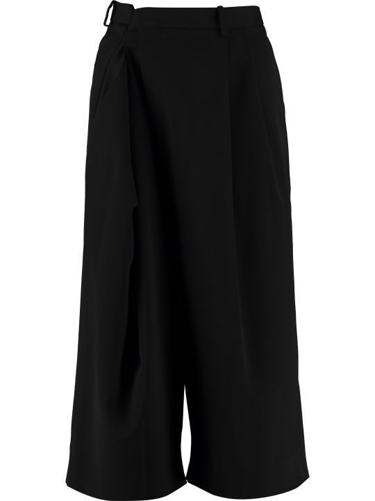 Maison Margiela Wool Blend Culotte Pants