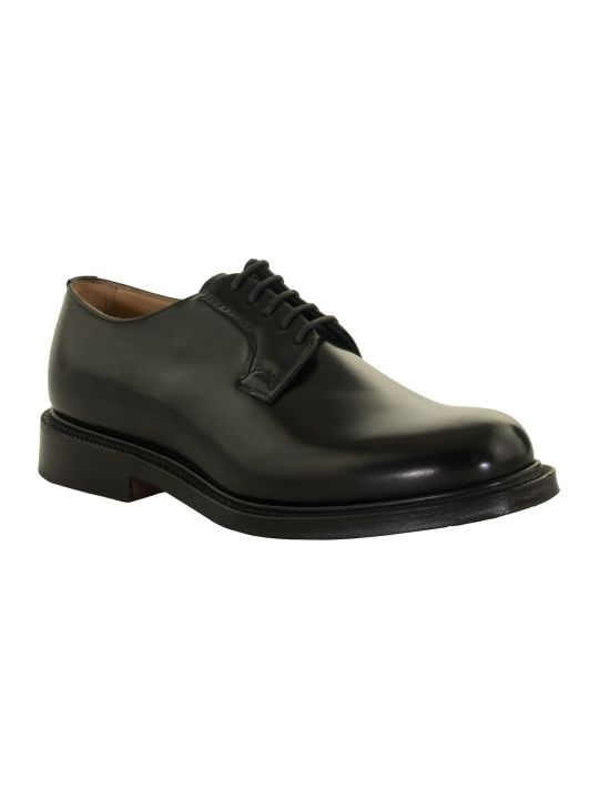 Church's Shannon Polished Derby Black