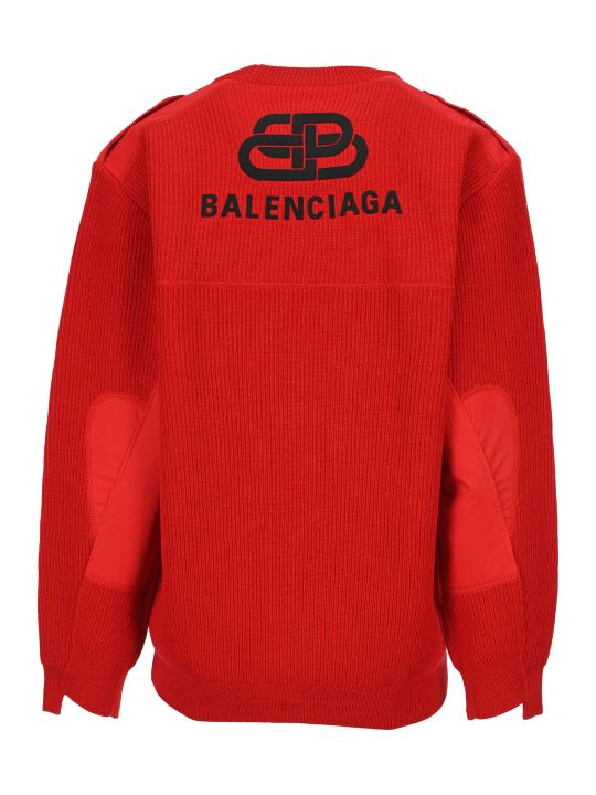 Balenciaga Embroidered Logo Sweater