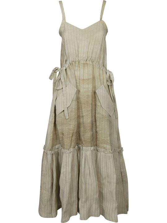 Golden Goose Striped Sleeveless Dress