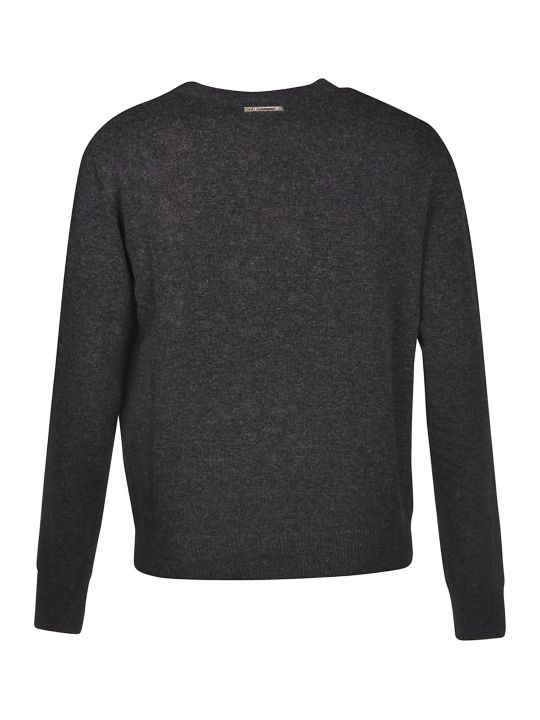 Les Hommes Logo Print Sweater