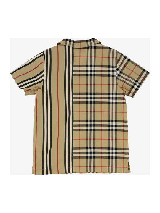 Burberry Double Pattern Shirt