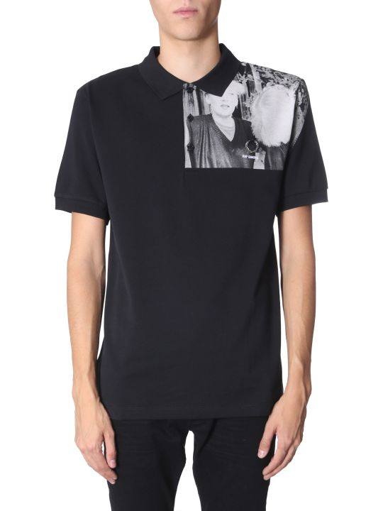 Fred Perry by Raf Simons Printed Polo T-shirt