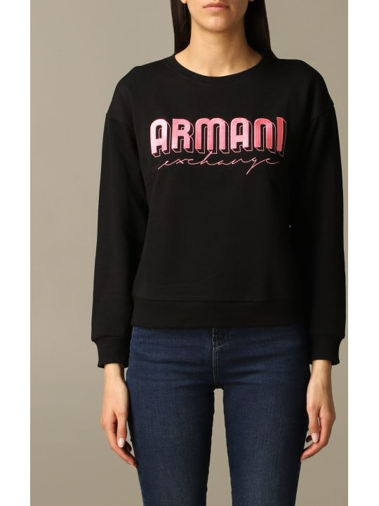 Armani Collezioni Armani Exchange Sweater Armani Exchange Crewneck Sweatshirt With Logo