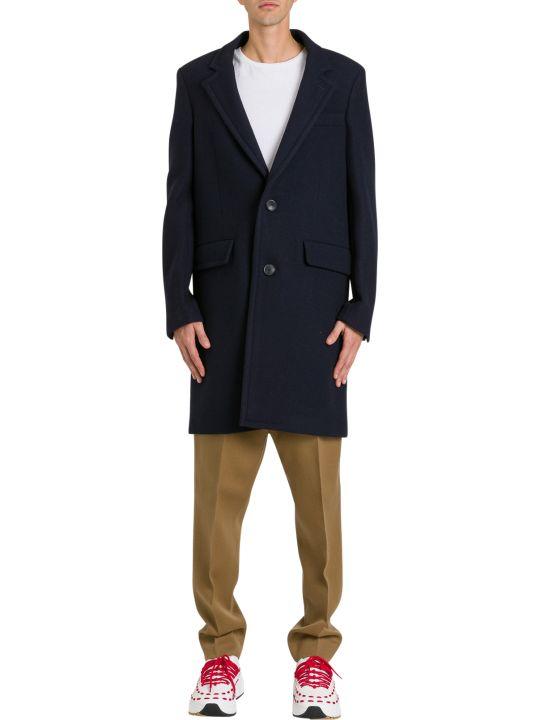 Ami Alexandre Mattiussi Short Single Breasted Coat