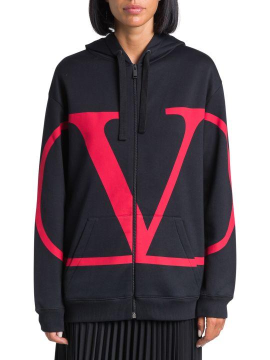 Valentino V-logo Hoodie