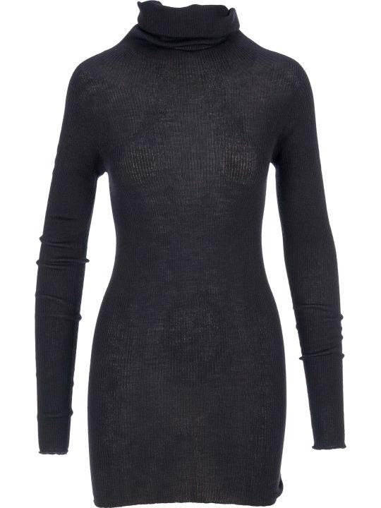Rick Owens Ribbed Long Sweater
