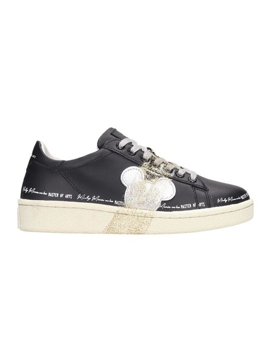 M.O.A. master of arts Sneakers In Black Leather
