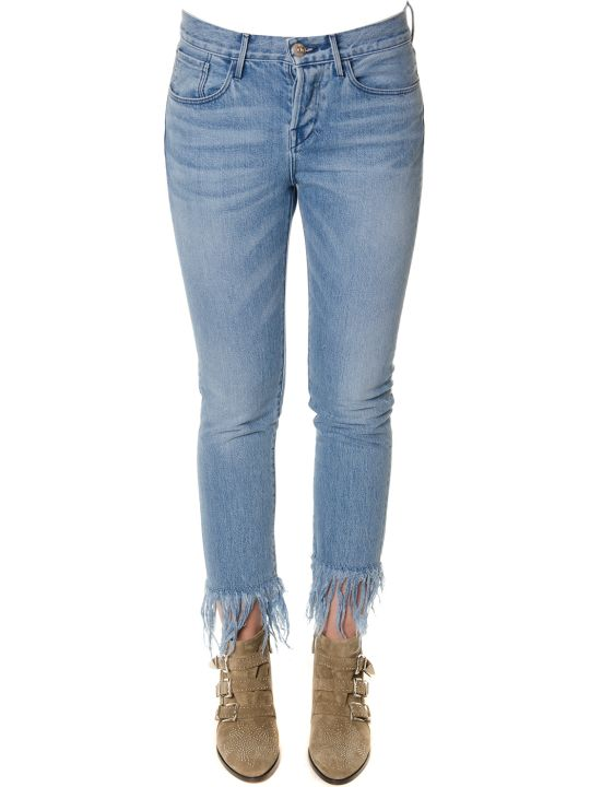 3x1 Denim Fringed Jeans