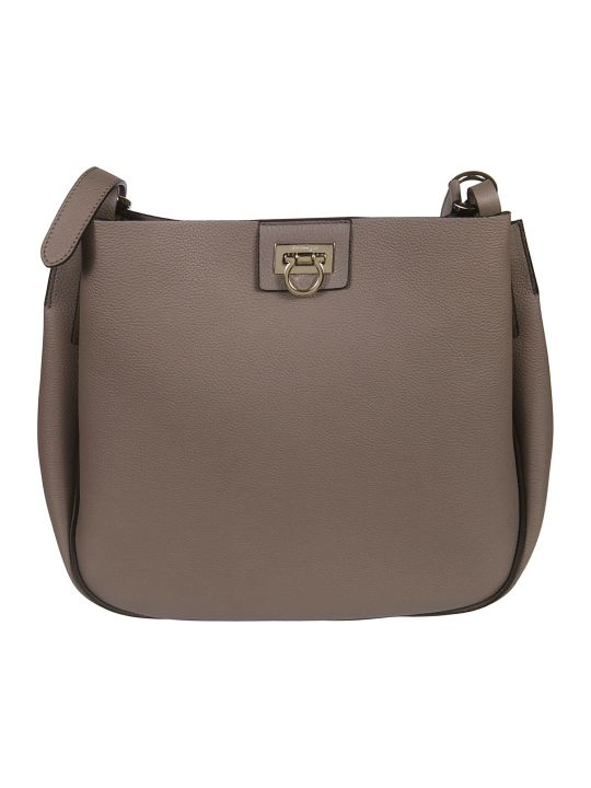 Salvatore Ferragamo Reverse Shoulder Bag