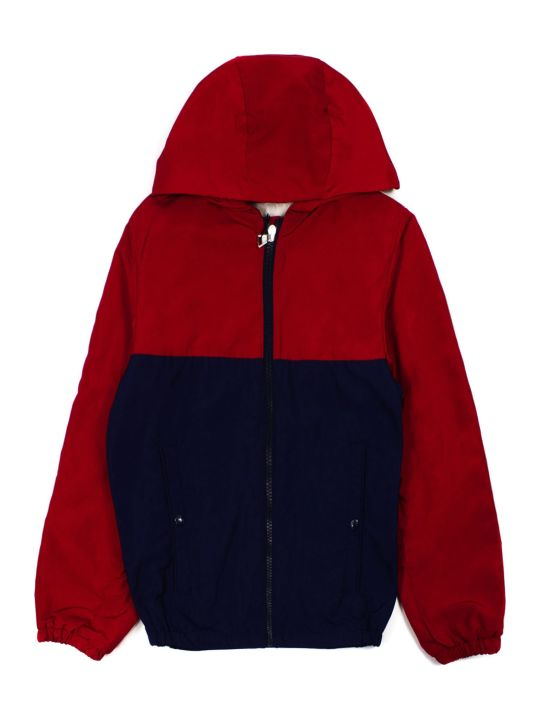 Moncler Red And Navy Jacket