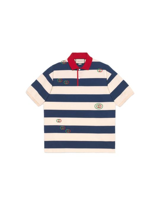 Gucci Stripes Short Sleeves