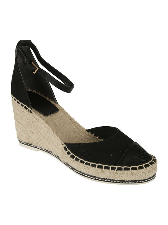 Tory Burch Color Block Wedge Sandals