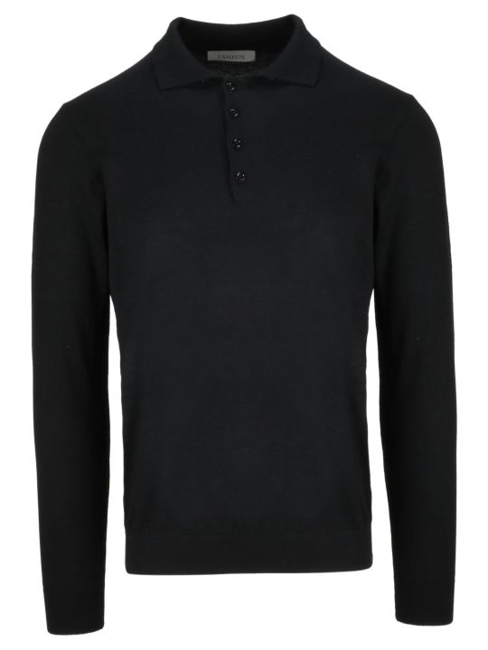 Laneus Long Sleeves Polo Shirt
