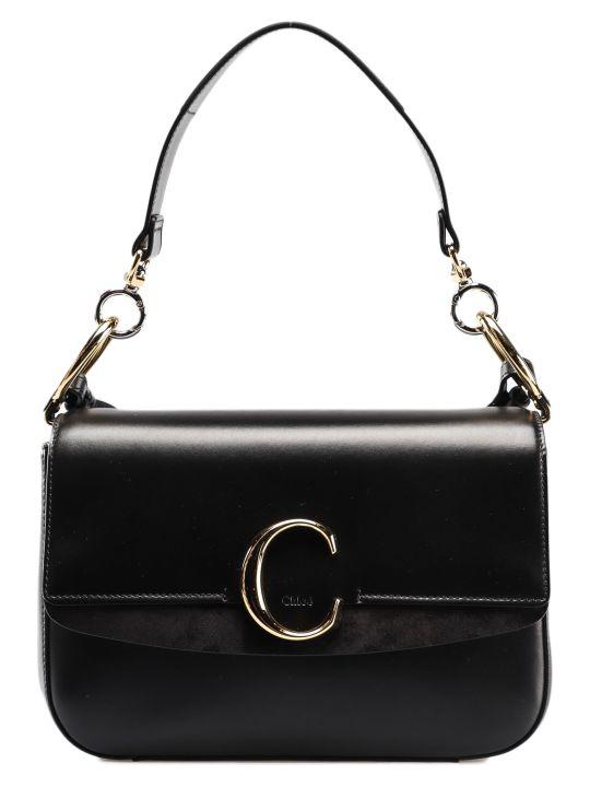 Chloé Chloe C Double Shoulder Bag