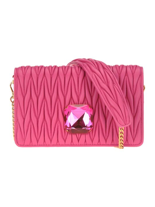 Miu Miu Small  Delice Chain Bag + Crystal