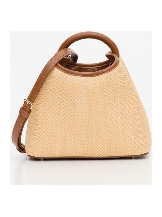 Elleme Baozi Raffia Bag