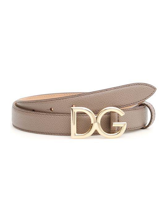 Dolce & Gabbana Dg Logo Belt
