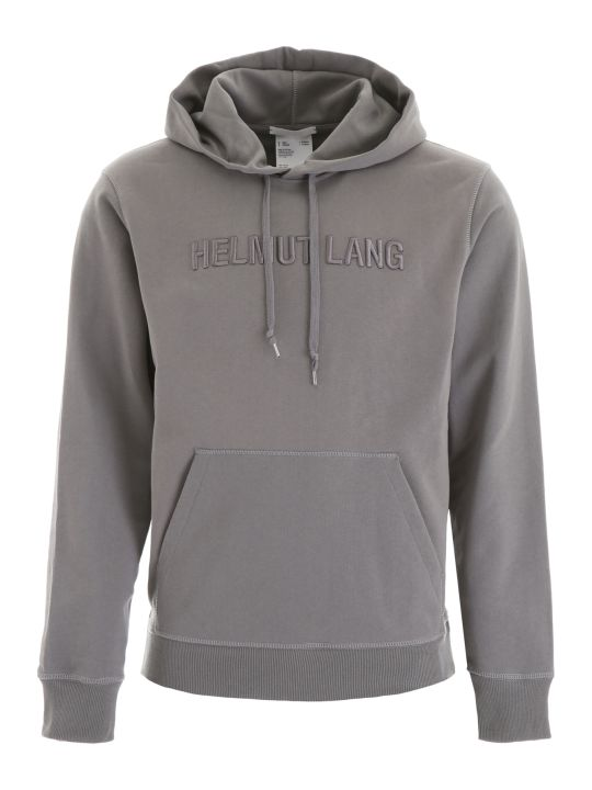 Helmut Lang Hoodie With Logo Embroidery