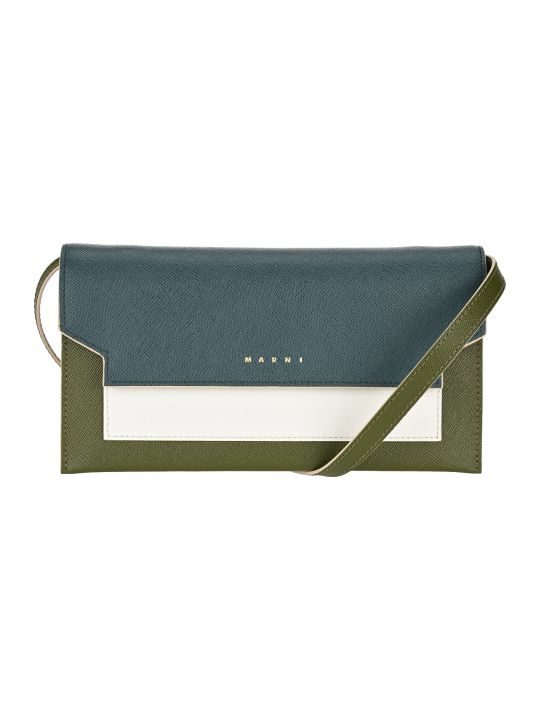 Marni Bellows Crossbody Bag