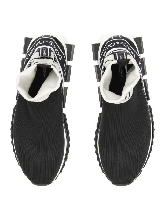 Dolce & Gabbana Sorrento Hi-top Running Sneakers