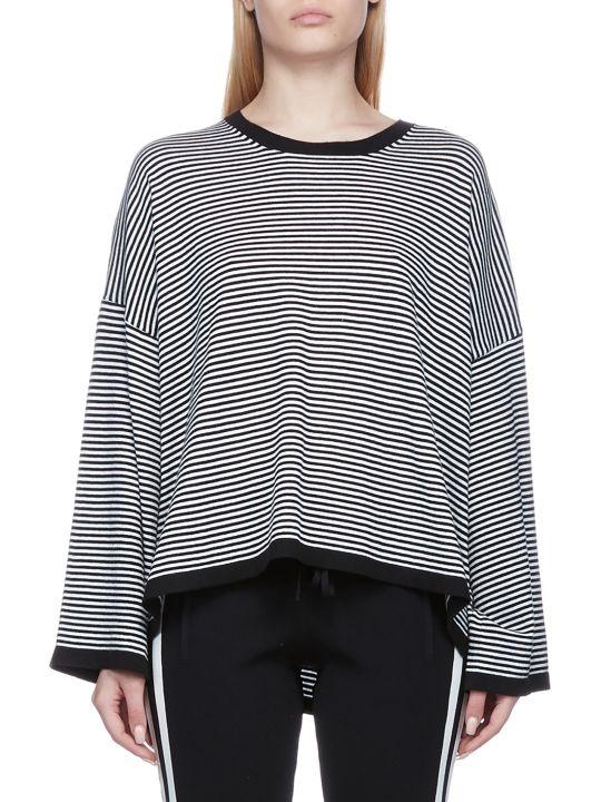 Parosh Striped Sweatshirt