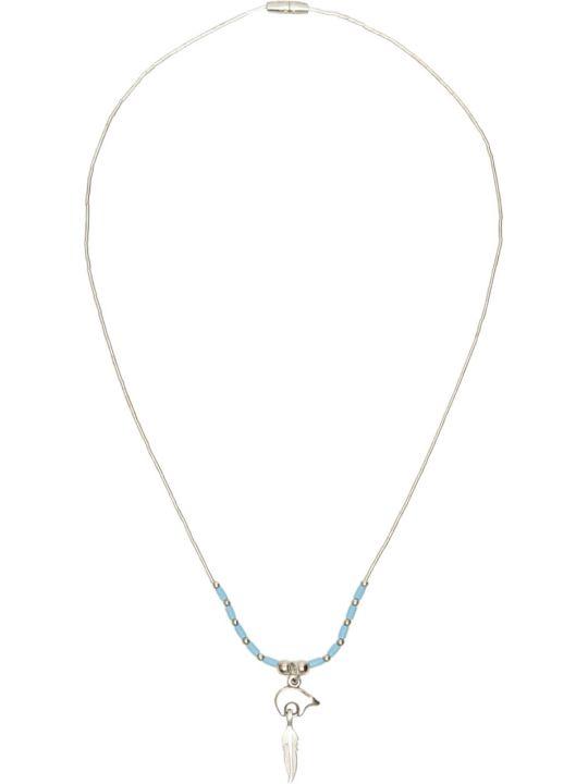 Jessie Western Silver Bear Power Necklace