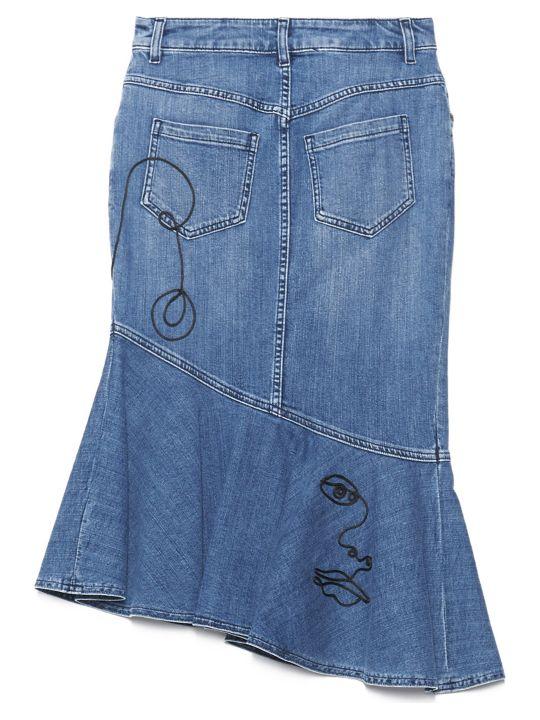 Moschino 'picasso' Skirt