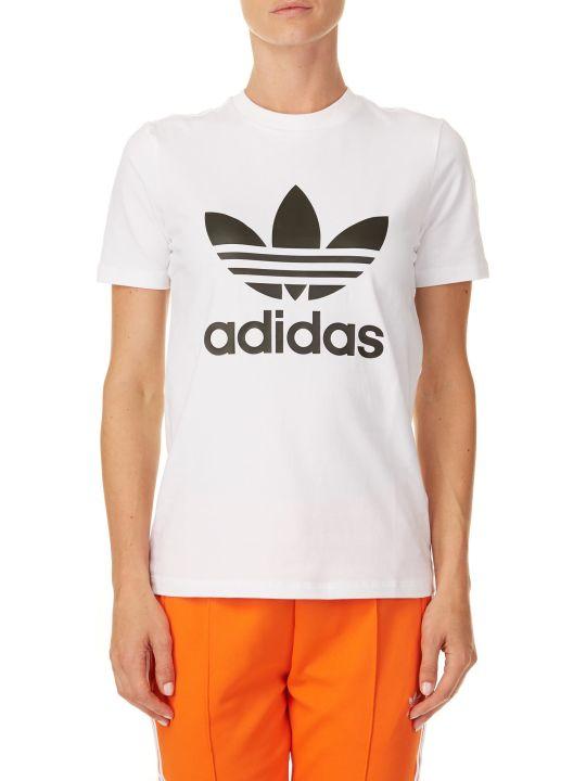 Adidas Trefoil Stretch Cotton T-shirt