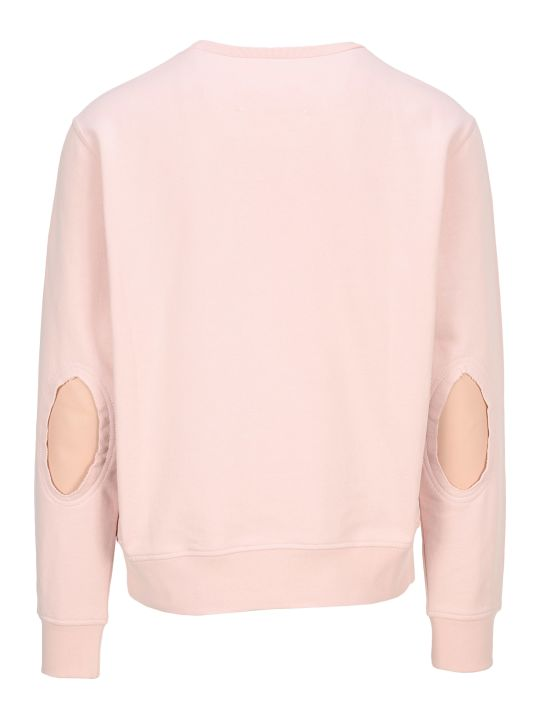 Maison Margiela Martin Margiela Décortiqué Elbow Patch Sweatshirt