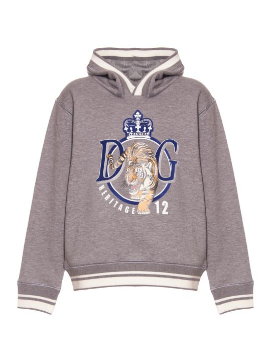 Dolce & Gabbana Summer Smile Hooded Sweatshirt
