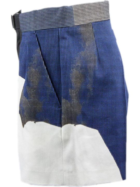 Maison Margiela Cotton Patchwork Shorts