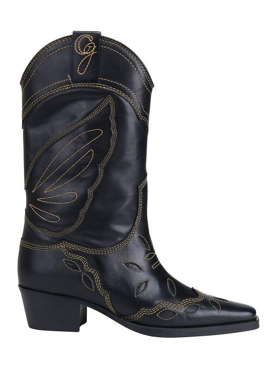 Ganni Texas Boots