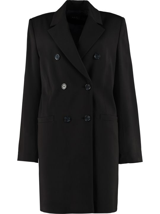 A.P.C. Colette Double-breasted Coat