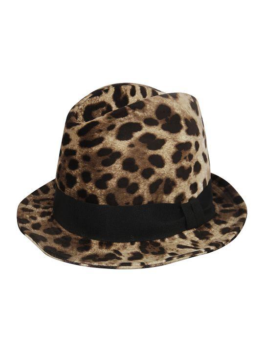 Dolce & Gabbana Round Brim Hat