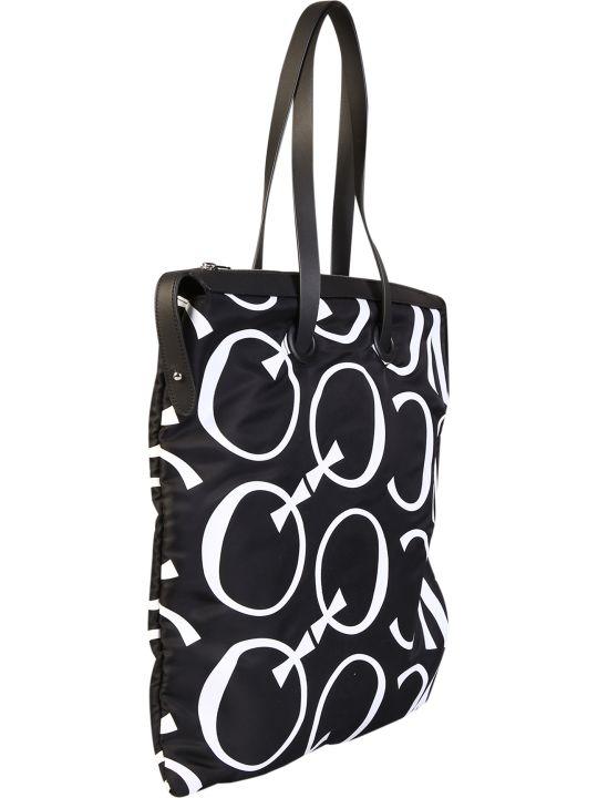McQ Alexander McQueen Logo Print Nylon Tote Bag