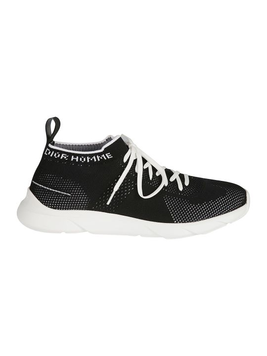 Christian Dior Low-top Logo Detail Mesh Sneakers