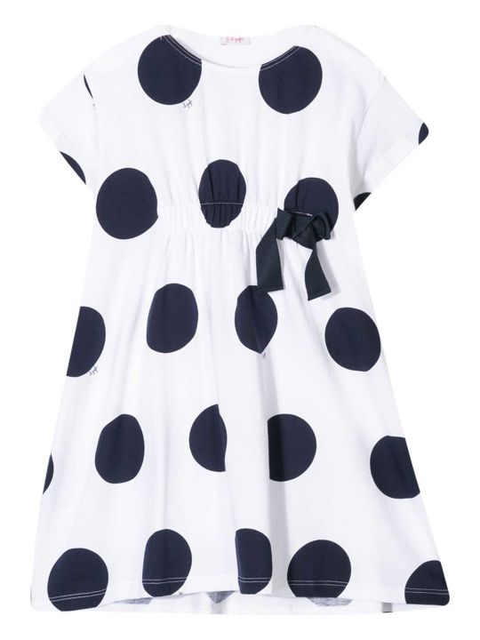 Il Gufo Polka-dot Dress