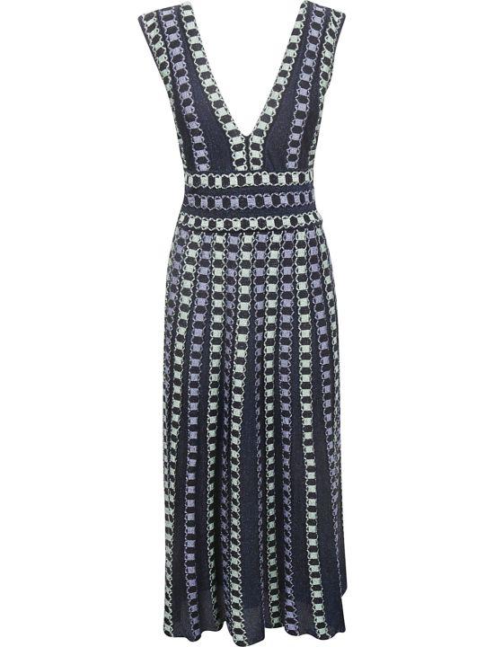 M Missoni Knitted Pattern Dress