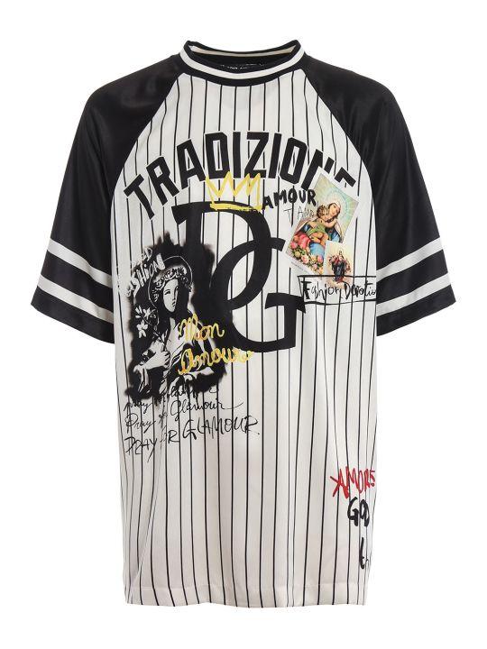 Dolce & Gabbana Oversized Printed T-shirt