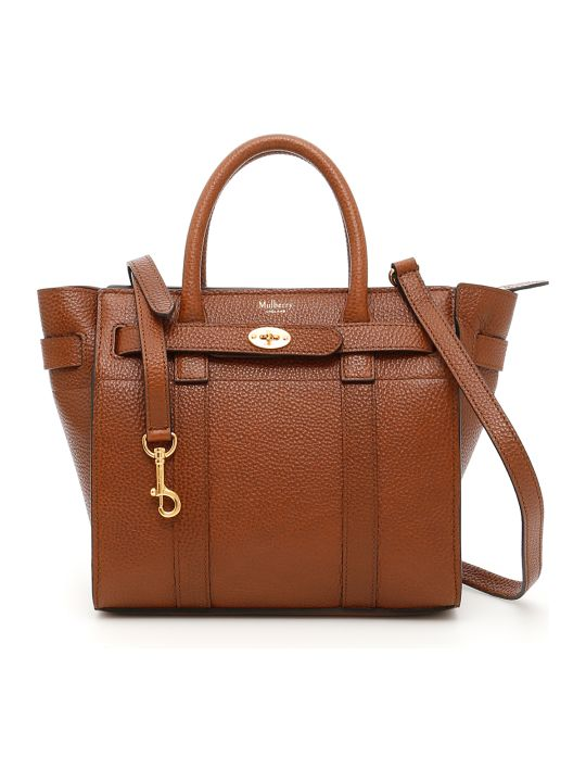 Mulberry Zipped Bayswater Mini Bag
