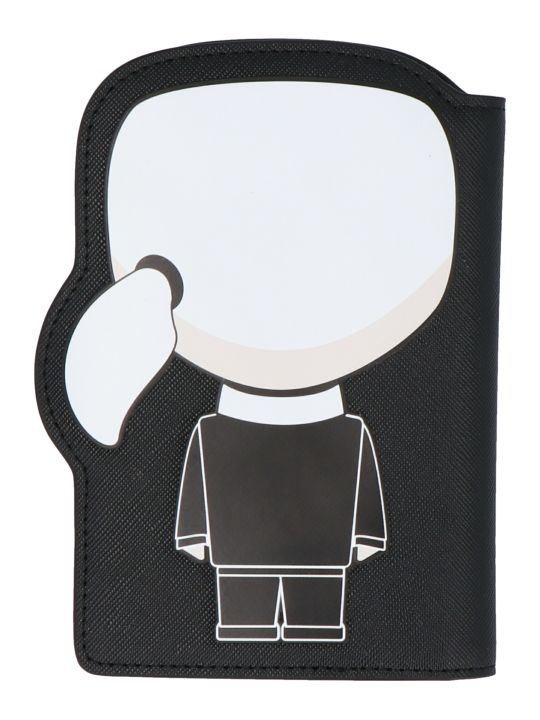 Karl Lagerfeld 'ikonik' Passaport Holder