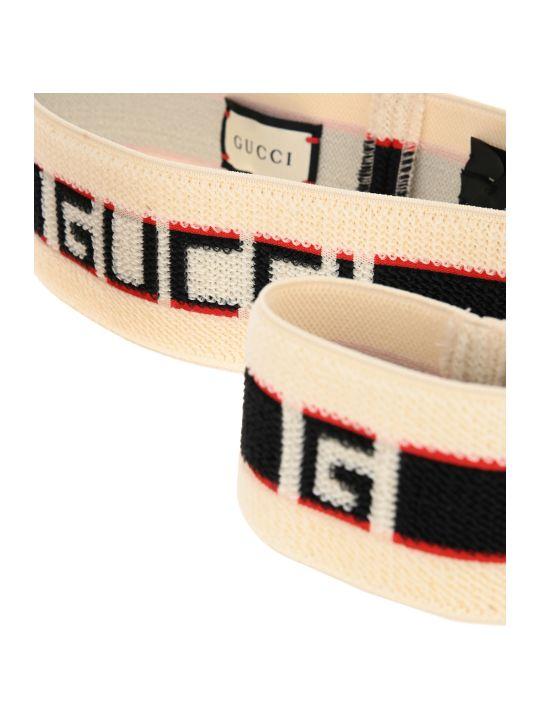 Gucci Gucci Stripe Headband And Wrist Cuffs