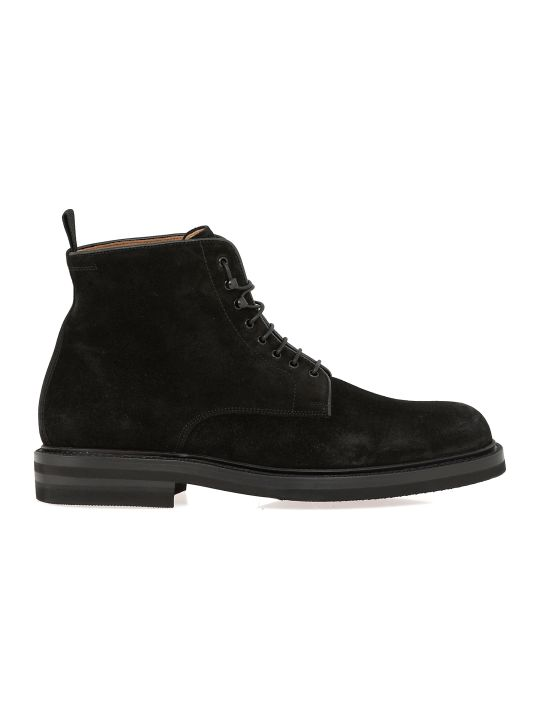 Green George Leather Boot