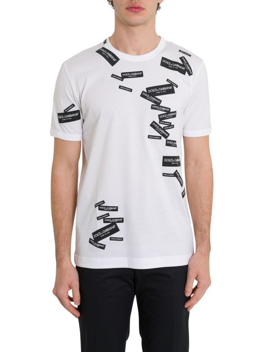 Dolce & Gabbana Applied Labels Tee