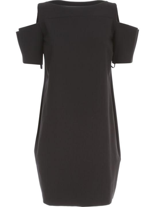 La Petit Robe Di Chiara Boni Dress Boat Neck W/naked Shoulder