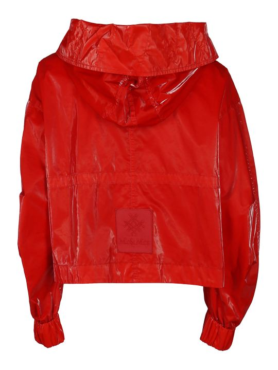 Mr & Mrs Italy Red Cotton Jacket