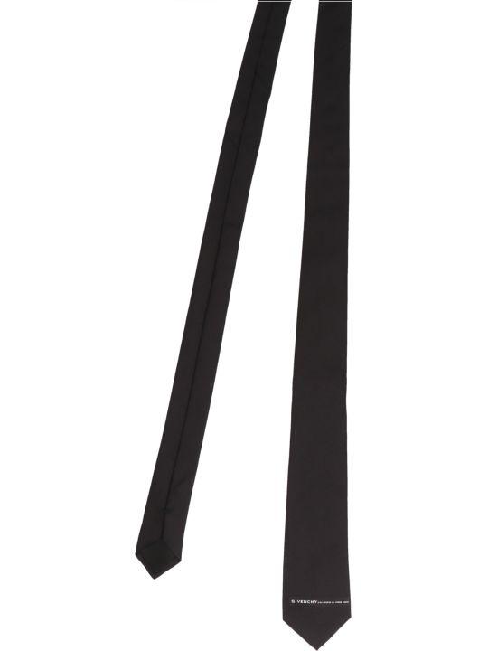 Givenchy 'address Logo' Tie