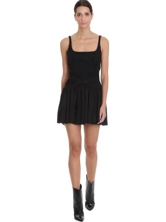 Giovanni Bedin Dress In Black Cotton