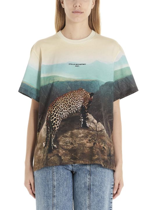 Stella McCartney 'leopard Scene' T-shirt